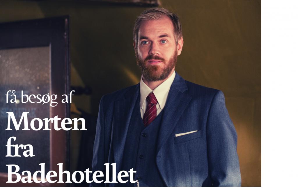 """Foredrag """"Morten fra Badehotellet"""""""